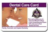 Plastic membership Card